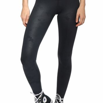 Strut This Teagan High Rise Embossed Camo Leggings