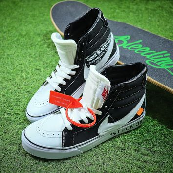 NIKE x OFF white x Vans VANS SK8-HI Shoes - Best Online Sale
