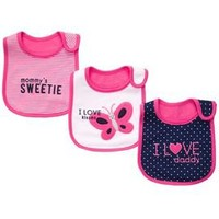 3-pack Teething Bibs
