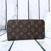 LV Women Leather Print Multicolor Wallet Purse PA-YGT