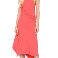 Cady Ruffle Slip Dress