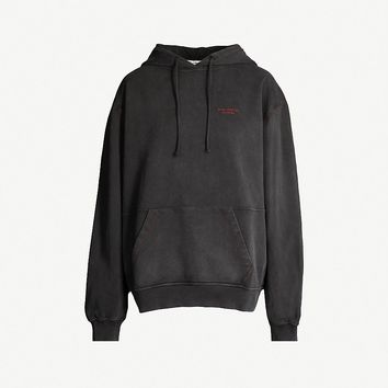 ACNE STUDIOS - Faded cotton-jersey hoody | Selfridges.com