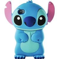 Shenanigames Disney Stitch Adorable Case for iPhone 4/4S + Anti-Scratch Screen Protector!
