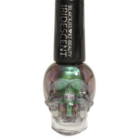 Blackheart Beauty Green Iridescent Nail Polish