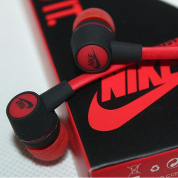 Metal Earphones Jack Standard Noise Isolating NIKE