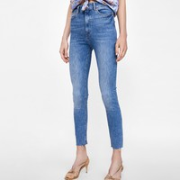 JEANS HIGH WAIST BROOME BLUE DETAILS
