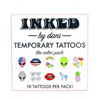 INKED by Dani Color Temporary Tattoo Pack | Dolls Kill