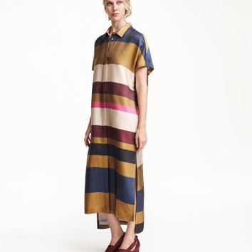 H&M Striped Shirt Dress $69.99