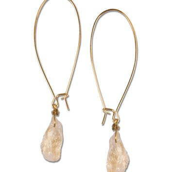 NEW! Citrine Drop Earrings