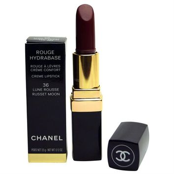 Chanel Rouge Coco Hydrating Creme lipstick 36 Lune Rousse  0.12 oz