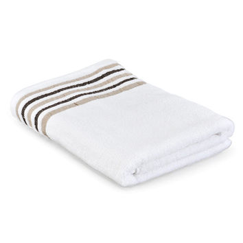 NITORI 100% Cotton Stripe Bath Towel - 6 Colors