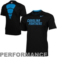 Nike Carolina Panthers Performance Hypercool Speed T-Shirt - Black