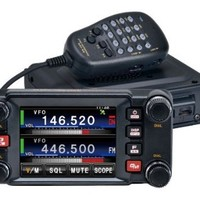 Yaesu FTM-400DR Amateur Radio 144/440 Dual Band Mobile Transceiver, 50 Watts