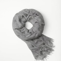 Rag & Bone - Buckley Scarf, Brushd Nickl Size 1