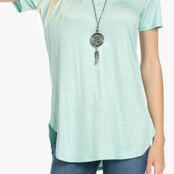 Simply Sweet Tee - Mint