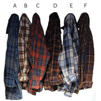You Pick: Vintage Wool Flannels Size MEDIUM