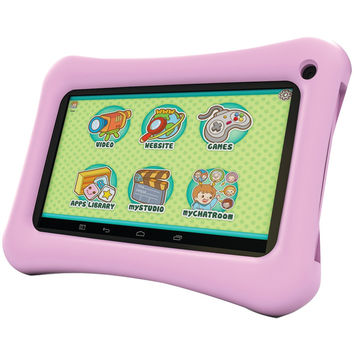 "Hipstreet 7"" 8gb Dual-core Tablet (pink)"