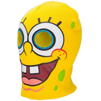Spongebob Squarepants - Face Ski Mask