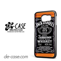 Jack Daniel's Whiskey For Samsung Galaxy S6 Samsung Galaxy S6 Edge Samsung Galaxy S6 Edge Plus Case Phone Case Gift Present