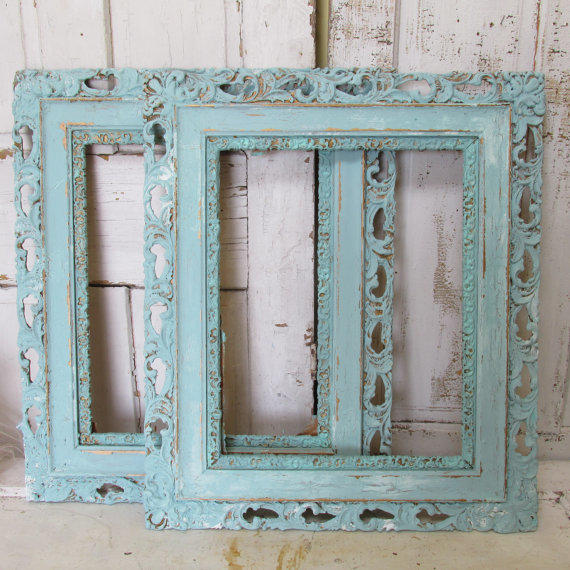 Large Shabby Chic Picture Frame Picture Frame Large 12x16 Vintage ...