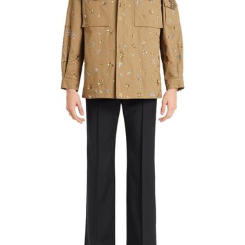 Valentino Star Embroidered Military Jacket | Nordstrom