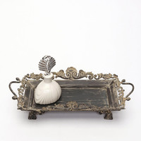 Filigree Scroll Vanity Tray