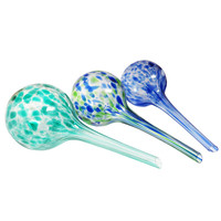 Evelots Aqua Glass Globes, Automatic Plant Watering Bulbs,Home & Garden,Set Of 3