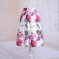 Retro Print Gorgeous Tutu Skirt B0015203