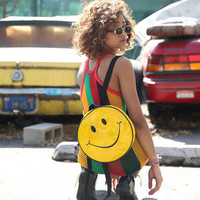 SMILEY IN YOUR FACE BACKPACK