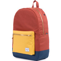 Herschel Supply Settlement Backpack - Navy/Rust/Copper