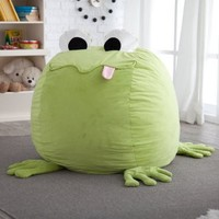 Froggy Critter Foam Bean Bag Chair - Bean Bag Chairs at Hayneedle
