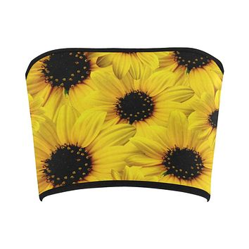 Sunflower Bandeau Top