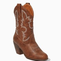Tae Short Cowboy Boots | Fashion Shoes - Rodeo | charming charlie