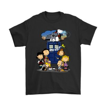 PEAPV4S Snoopy Bad Dog Doctor Who Mashup Shirts