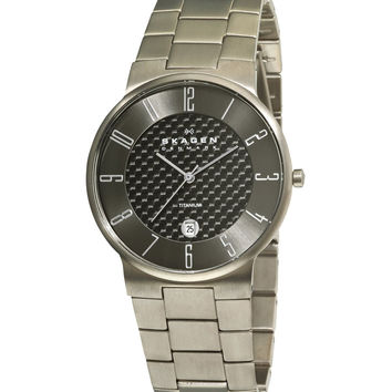 Skagen C455XLTMXMC Men's Denmark Titanium Grey Dial Quartz Watch