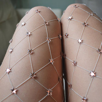Peach Starry Net