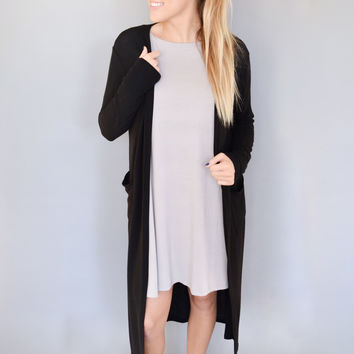 Bridge Street Cardigan Black
