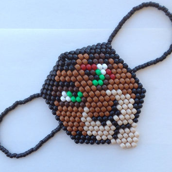 Scar from The Lion King Handmade Kandi Mask