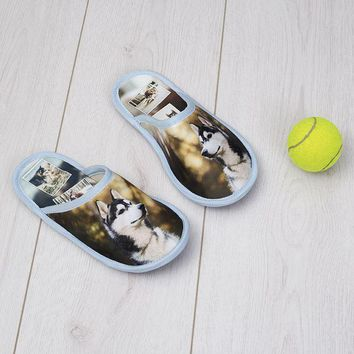 Custom Photo Slippers