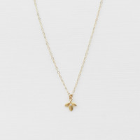 Petite Lotus Flower Necklace - Christine Elizabeth Jewelry™