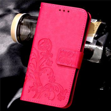 A3 A5 Wallet Leather Flip For Samsung Galaxy A310 A510 2016 Version Case Retro Embossed Flower Cover Stand Holder With Card Slot