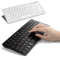 Ultra-slim Wireless Keyboard Bluetooth 3.0 for Apple iPad/iPhone Series/Mac Book/Samsung Phones/PC Computer  High Qualit