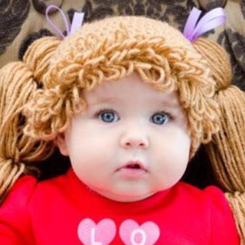 Cabbage Patch Crochet Hat