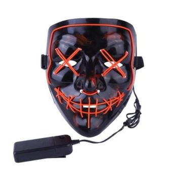 LED The Purge Election Year Light Mask Costume