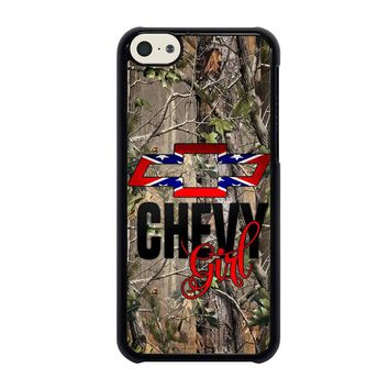 CAMO BROWNING REBEL CHEVY GIRL iPhone 5C Case Cover