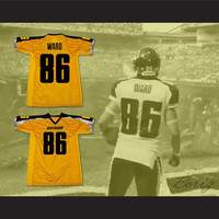 Gotham Rogues Hines Ward 86 Football Jersey Stitch Sewn New