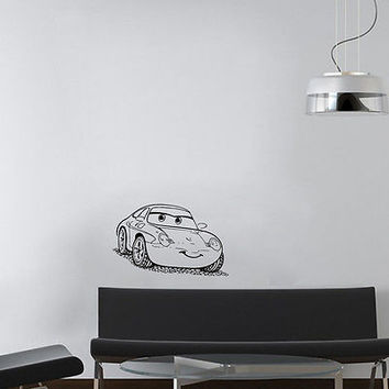 Wall Mural Vinyl Sticker Decal  machine eyes sport DA1035