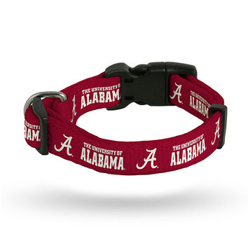 ALABAMA UNIVERSITY PET COLLAR - LARGE
