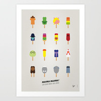 My MUPPET ICE POP - UNIVERS Art Print by Chungkong