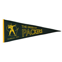 Green Bay Packers NFL Throwback Pennant (13x32)